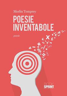 Poesie inventabole - Merlin Temprey - copertina