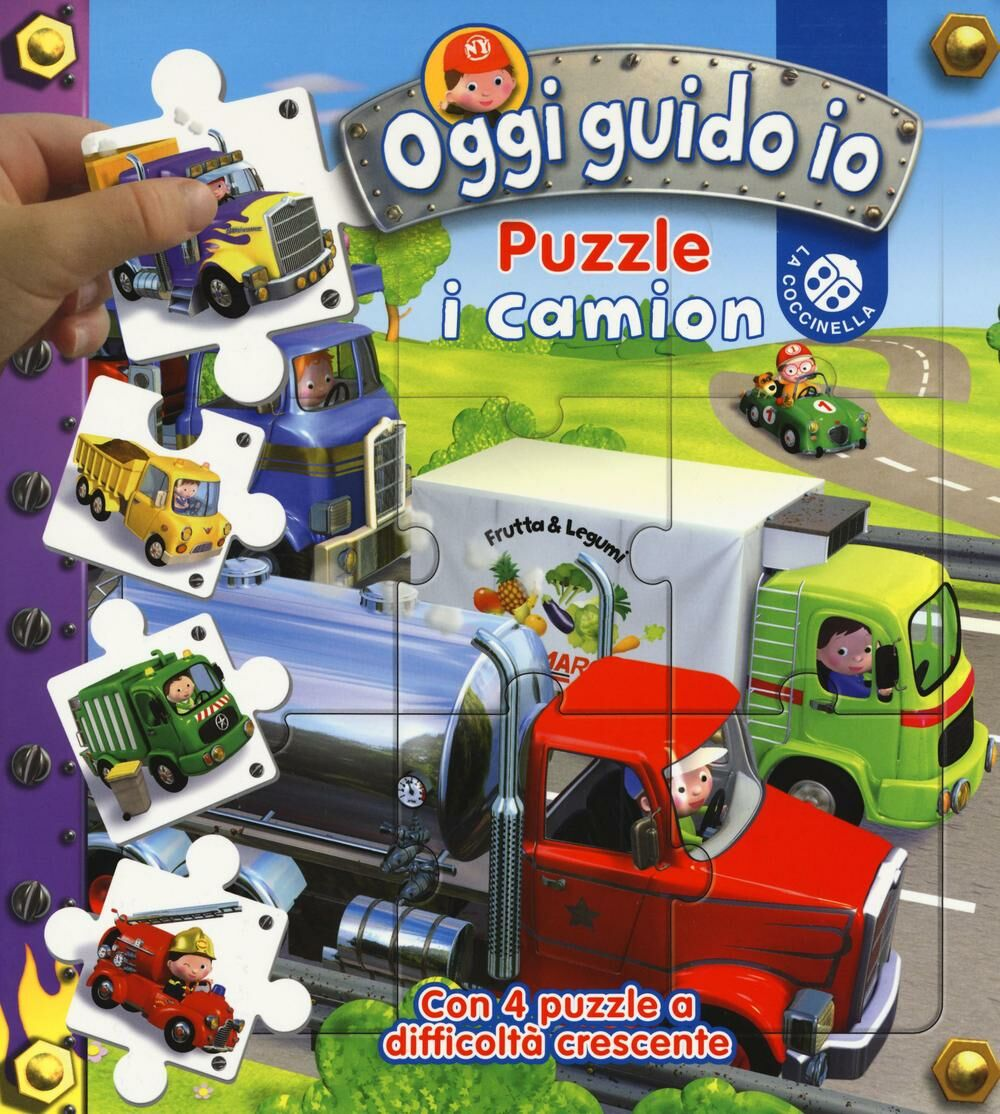 I camion. Oggi guido io. Puzzle