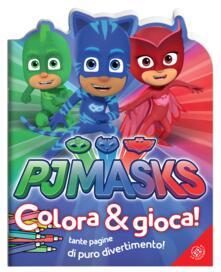 Pj Masks. Colora e gioca! Ediz. a colori.pdf