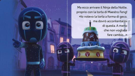 Libro La torta di compleanno. Pj Masks. Ediz. a colori  3