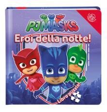 Lpgcsostenible.es Eroi della notte! Pj Masks. Libro puzzle. Ediz. a colori Image