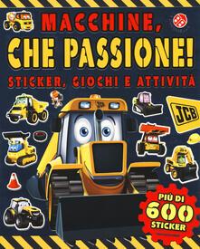 Lpgcsostenible.es Macchine, che passione! Sticker, giochi e attività. Con adesivi Image