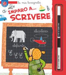 Premioquesti.it Imparo a... scrivere. La mia lavagnetta. Ediz. a colori. Con gadget Image