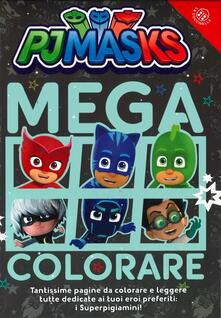 Winniearcher.com Mega colorare! Pj Masks. Ediz. a colori Image