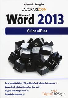 Lpgcsostenible.es Lavorare con Microsoft Word 2013. Guida all'uso Image
