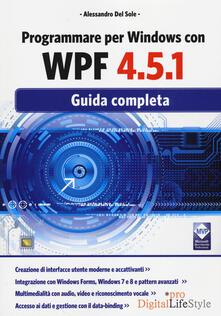Camfeed.it Programmare per Windows con WPF 4.5.1. Guida completa Image