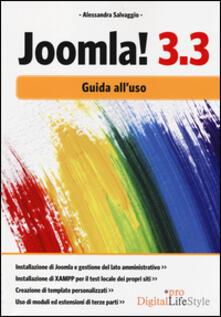 Joomla! 3.3. Guida all'uso - Alessandra Salvaggio - copertina
