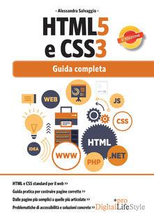 HTML5 e CSS3. Guida completa - Alessandra Salvaggio - ebook