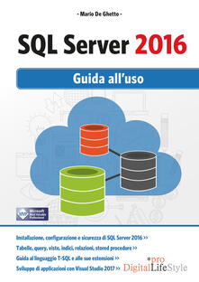 Winniearcher.com SQL Server 2016. Guida all'uso Image
