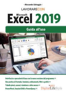 Antondemarirreguera.es Lavorare con Microsoft Excel 2019. Guida all'uso Image