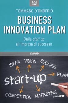 Antondemarirreguera.es Il business innovation plan. Dalla start up all'impresa di successo Image