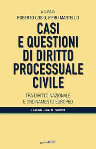 Casi e questioni di diritto processuale civile