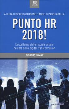 Capturtokyoedition.it Punto HR 2018! L'eccellenza delle risorse umane nell'era della digital transformation Image