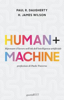 Radiospeed.it Human + machine. Ripensare il lavoro nell'età dell'intelligenza artificiale Image