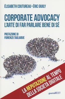 Antondemarirreguera.es Corporate advocacy. L'arte di far parlare bene di sé Image