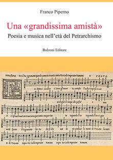 Fondazionesergioperlamusica.it Una «grandissima amistà». Poesia e musica nell'età del Petrarchismo Image