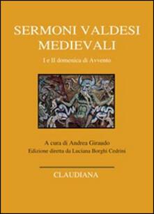 Ipabsantonioabatetrino.it Sermoni valdesi medievali. I e II domenica di Avvento. Testo occitano a fronte Image