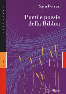 Poeti e poesie della Bibbia - Sara Ferrari - copertina