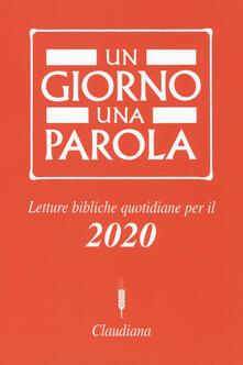 Lpgcsostenible.es Un giorno una parola. Letture bibliche quotidiane per il 2020 Image