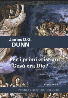Fondazionesergioperlamusica.it Per i primi cristiani Gesù era Dio? Image