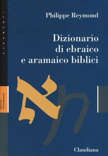 Vitalitart.it Dizionario di ebraico e aramaico biblici Image
