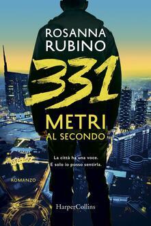 331 metri al secondo - Rosanna Rubino - copertina