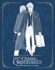 Antondemarirreguera.es Animali fantastici: I crimini di Grindelwald. Avventure magiche da colorare Image