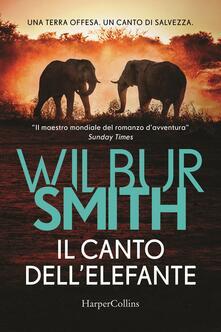 Il canto dell'elefante - Wilbur Smith - copertina
