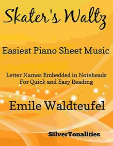 The Skater's Waltz Easiest Piano Sheet Music