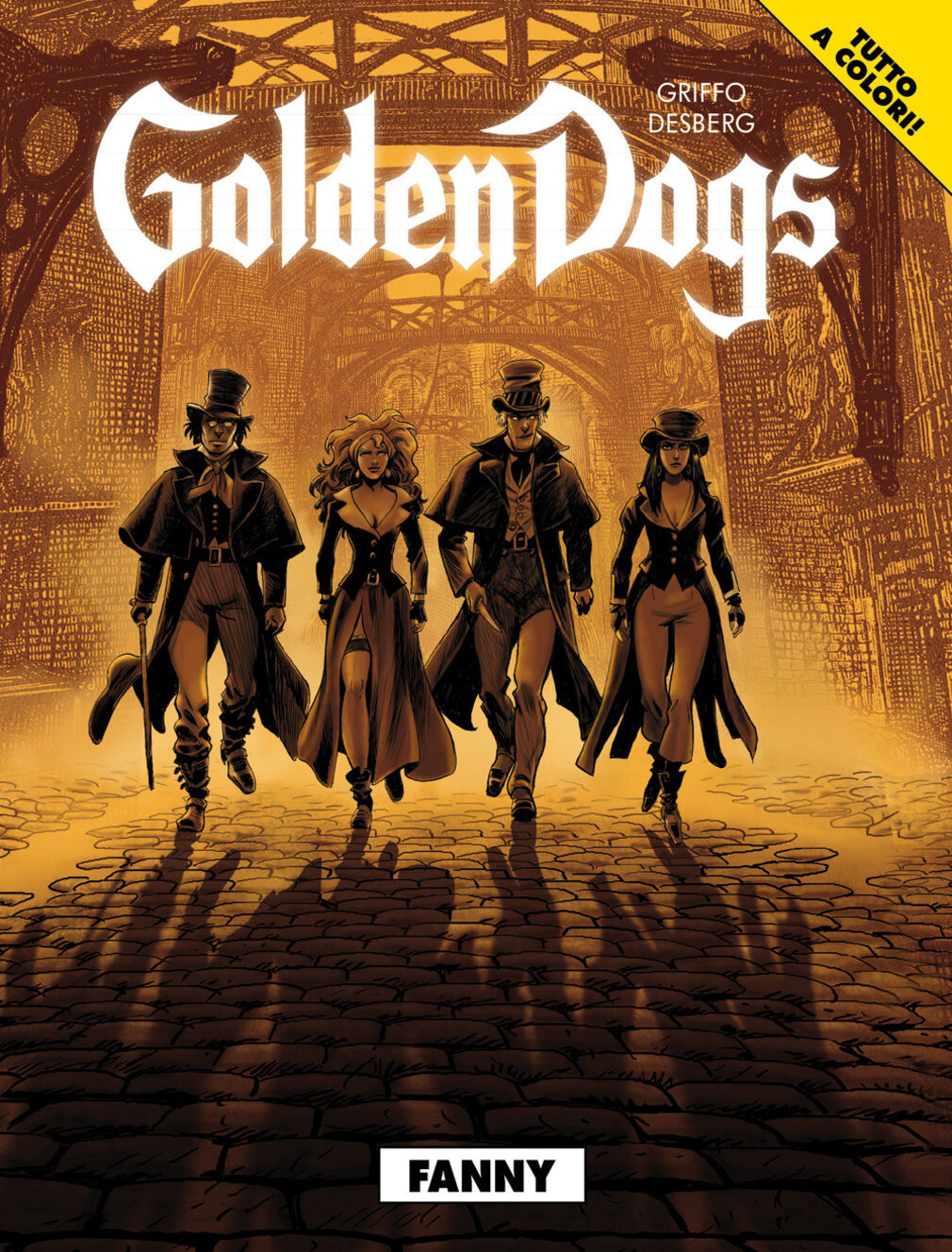 Fanny. Golden dogs. Vol. 1