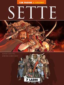 Sette: 7 psicopatici-7 ladri. Vol. 1 - copertina