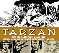 Tarzan. Strisce giornaliere e domenicali. Vol. 2: 1969-1971. - Manning Russ Burroughs Edgar R. - wuz.it