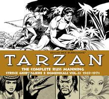 Osteriamondodoroverona.it Tarzan. Strisce giornaliere e domenicali. Vol. 2: 1969-1971. Image