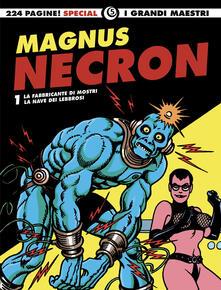 Squillogame.it Necron: La fabbricante di mostri-La nave dei lebbrosi. Vol. 1 Image