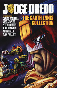 Judge Dredd. The Garth Ennis collection. Vol. 3 - Garth Ennis - copertina