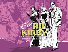 Rip Kirby. Il primo detective dell'era moderna. Strisce giornaliere. Vol. 3: 1951-1954. - Alex Raymond - copertina