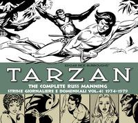 Tarzan. Strisce giornaliere e domenicali. Ediz. integrale. Vol. 4: 1974-1979. - Manning Russ Burroughs Edgar R. - wuz.it