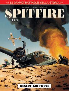 Squillogame.it Le grandi battaglie della storia. Vol. 21: Desert air force. Spitfire. Image