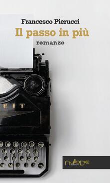 Il passo in più - Francesco Pierucci - copertina