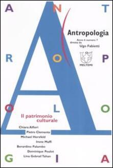 Winniearcher.com Antropologia (2006). Vol. 7: Il patrimonio culturale. Image