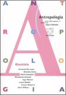 Promoartpalermo.it Antropologia (2008). Vol. 11: Giustizia. Image