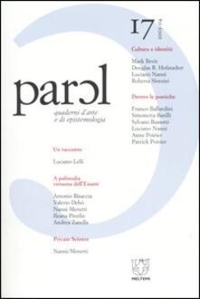 Parol. Quaderni darte e di epistemologia (2003-2004). Vol. 17.pdf