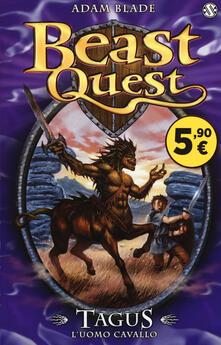 Squillogame.it Tagus. L'uomo cavallo. Beast Quest Image