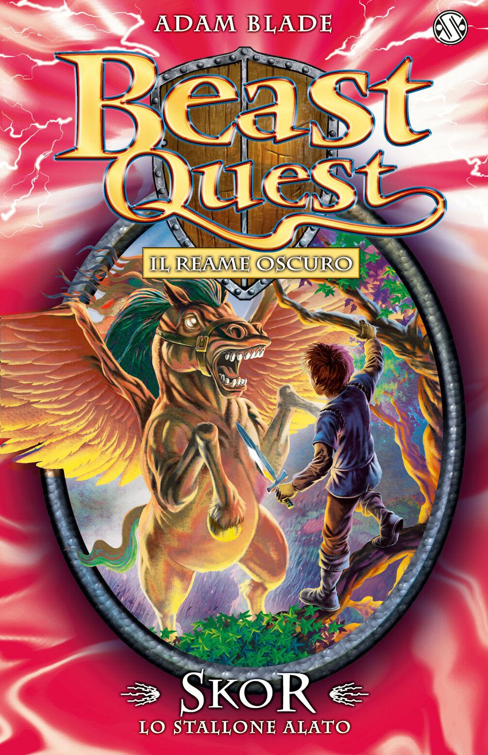 Skor. Lo stallone alato. Beast Quest. Vol. 14