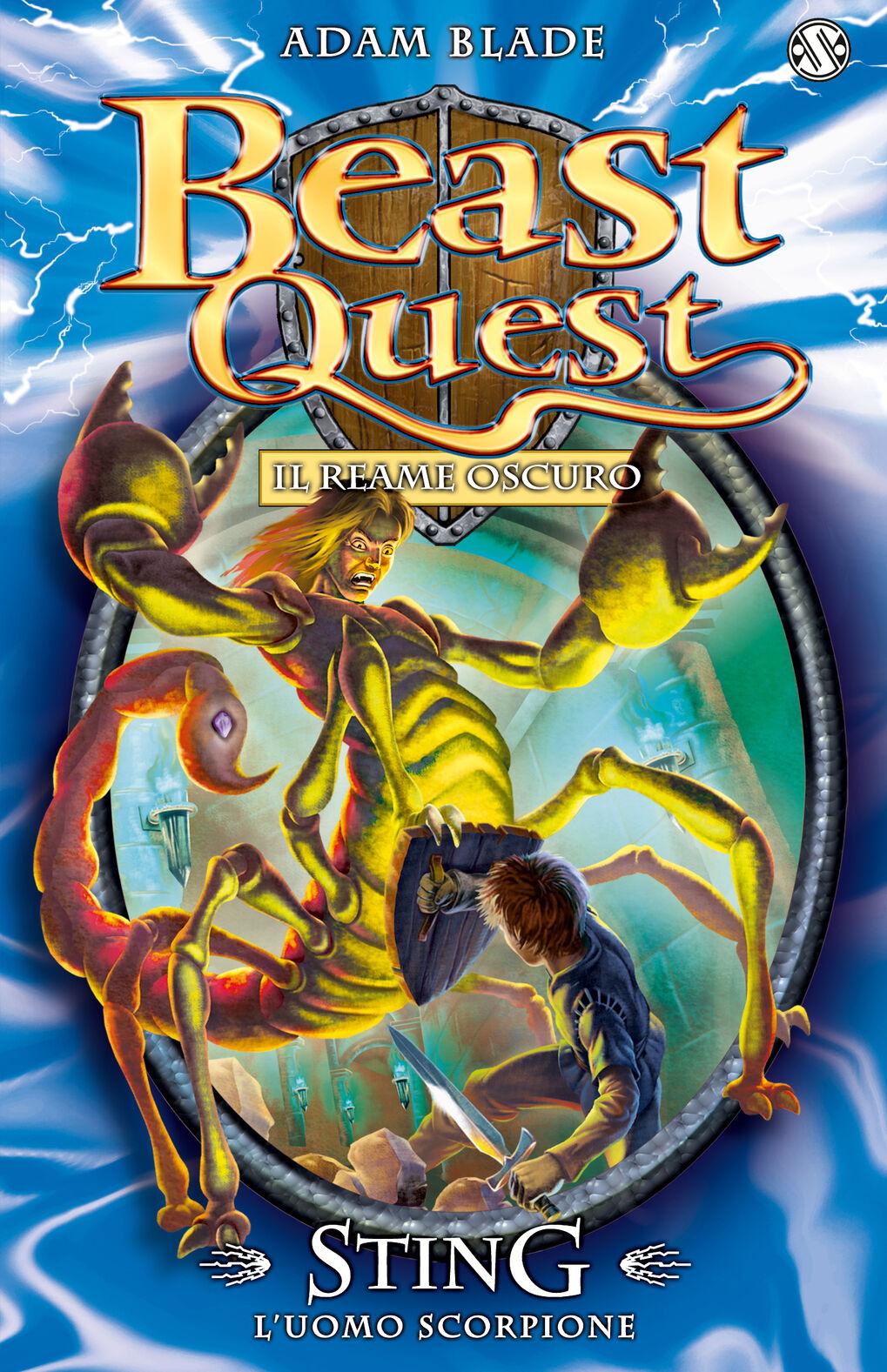 Sting. L'uomo scorpione. Beast Quest. Vol. 18