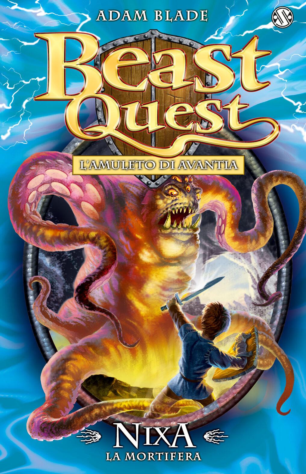 Nixa. La mortifera. Beast Quest. Vol. 19