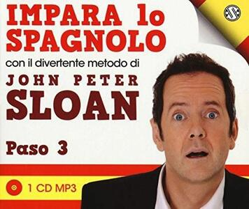 Impara lo spagnolo con il divertente metodo. Paso 3. Audiolibro. CD Audio