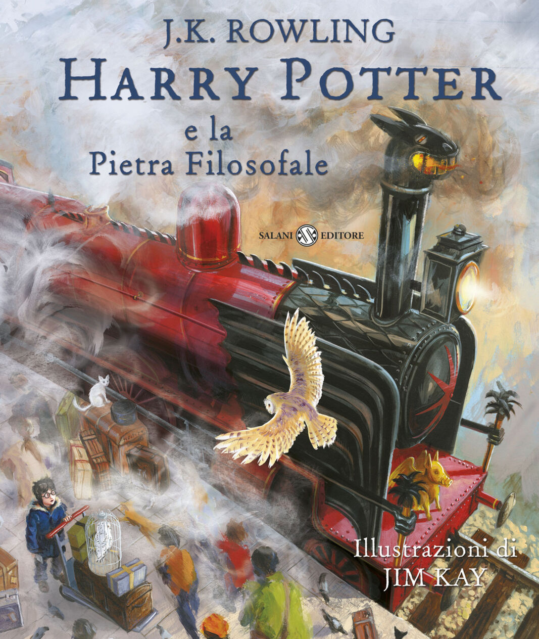Harry Potter e la pietra filosofale. Ediz. illustrata