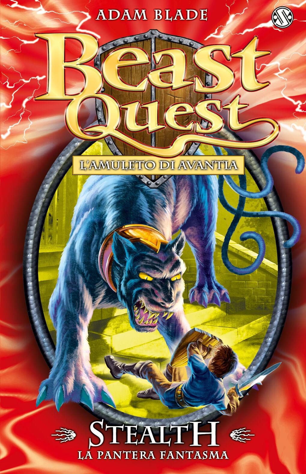 Stealth. La pantera fantasma. Beast Quest. Vol. 24