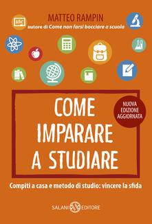 Come imparare a studiare. Compiti a casa e metodo di studio: vincere la sfida.pdf